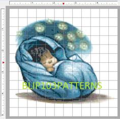 Baby Harry Potter Cross Stitch Pattern by Blip103patterns on Etsy, $2.00
