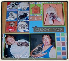 Pets Are Family Too: My Puppy Love Scrapbook | APeekIntoMyParadise.com #animal #pets #dog #cat #scrapbook #papercraft #photo #picture #memories