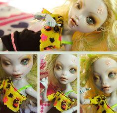 Monster High custom by ©eyepins.