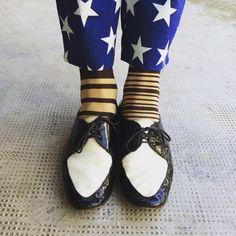 #oybosocks #socks #chaussettes #lurex #blackandwhite #calzini #calze #stripes #righe #biancoenero #style #streetstyle #fashion #streetfashion