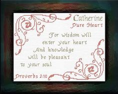 Name Blessings - Catherine 2