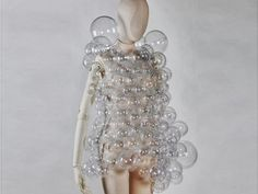 Hussein Chalayan bubble dress, spring 2007