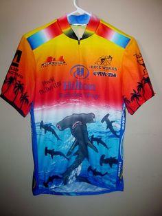 Pearl Izumi Hammer Head Shark Cycling / Bike jersey , Medium - Jerseys
