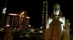 The Luxor where I am staying.