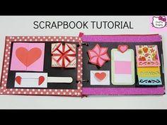 Scrapbook Tutorial/How to make Scrapbook/DIY Scrapbook Tutorial/Birthday Scrapbook Ideas - YouTube