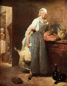 Page: The Besorgerin Artist: Jean-Baptiste-Simeon Chardin Completion Date: 1739 Style: Rococo Genre: genre painting Technique: oil Material: canvas Dimensions: 47 x 38 cm Gallery: Louvre Kitchen Maid, Jean Honore Fragonard, Jean Baptiste, Rosa Parks, Fine Art, Henri Matisse, Oeuvre D'art, Les Oeuvres, 18th Century
