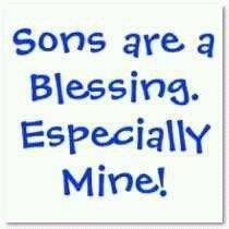 So True~ Love my son