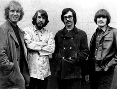 * Creedence Clearwater Revival * 1968.  USA. (Tom Fogerty, Doug Clifford, Stu Cook, John Fogerty).