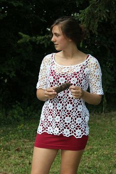 crochet top by Penny Farthing