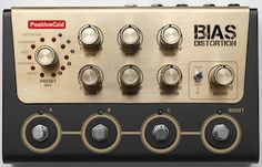 BIAS Distortion Pro Pedal from Positive Grid. This pedal carries over the same tone matching and component designing features of their popular BIAS amp technology, albeit in a compact form factor and specifically designed for distortion pedals.