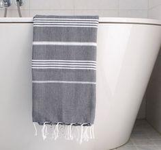 Hammam handduk - svart vit - 179 - 15a5666b16d95
