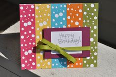 Little Birdie Secrets: bright birthday cards {with EKSuccess Tools}