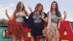 Embrace festival fashion this season with fringe! Whether you're staying in for a backyard barbeque or stepping out on the town for a country music concert, fringe styles will effortlessly accessorize your outfit. Make sure your look steals the show in these fringed and festive styles!