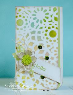 Thoughts of a Cardmaking Scrapbooker!: Hello....