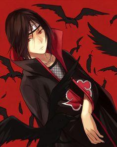 My favourite anime character, Uchiha Itachi :3