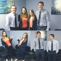 The team at Island Consulting is twinning!  Who wore it best?  #twinningiswinning