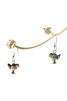 These handmade miniature Dorimu birds are made of thread and are only mm) tiny. The Dorimu miniature birds are made with a lot of patience and care. They are perfect gifts for bir. Handmade Art, Patience, Miniatures, Birds, Earrings, Jewelry, Ear Rings, Jewlery, Jewels