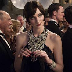Elizabeth Debicki como Jordan Baker en El gran Gatsby (2013).
