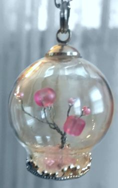 Upcycled Handmade Tree Glass Globe Pendant Necklace - Unique Terrarium Nature Jewelry  Handmade upcycled miniature wire-wrap tree pendant made with intertwined re...   https://nemb.ly/p/4kiMToSh_ Happily published via Nembol