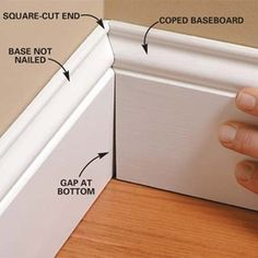 Great tutorials for DIY mouldings and trims