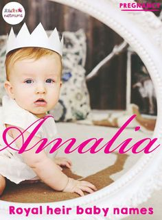 Royal heir baby names. With another little royal on the way, we thought we'd look at all the lovely baby names of the younger royal heirs around the world.
