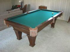 Foot Pool Table For Sale Pool Table Ideas Pinterest Pool - 6 ft brunswick pool table