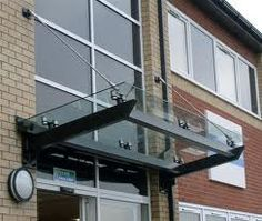 commercial entrance awnings - Google Search