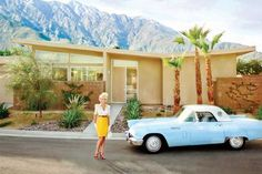 Mid-century style in Alexander II Estates Palm Springs. Need one of these in the garage