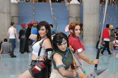 Who needs an HD remake when our Fantasy girls are right here? The ladies of FFVII nailed it.