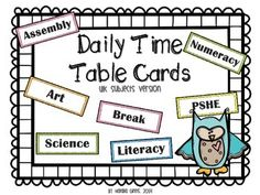Visual Timetable  Daily Schedule  Visual Timetable And Classroom