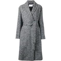 Alexander Wang - bouclé coat - women - Nylon/Polyester/Acetate/Wool - 0