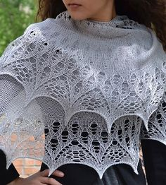 Ravelry: A Shawl for Emma pattern by Susanna IC