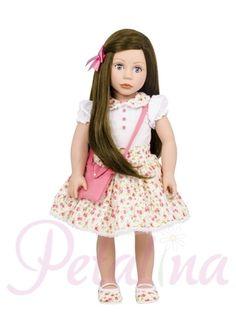 Petalina - Dolls > Bonnie & Pearl Doll: Light Skin, Brown Hair, Blue Eyes