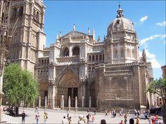 Tres Culturas: Fachada Oeste de la Catedral de Toledo