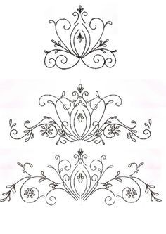 Chocolate and Royal Icing Templates on Pinterest
