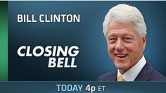 You may want to tune in to CNBC today at 4pm ET.