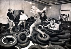 Alan Kaprow  Heppenings   Social Sculpture - Playgrounds formed by Players  Soziale Praktik des Spielens