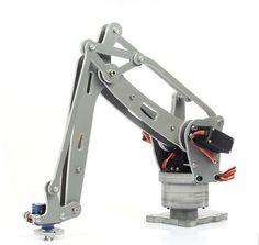 Robot Arm Arduino 6-Axis Servo Control Palletizing Arduino Mega2560 Robotics