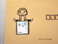 【切手枠】にちょこんと座るおかっぱガールのけしごむはんこです。無地の封筒に【切手枠】をポンと捺してかわいくアレンジしてみたり。ひとことコメントを書いてみたり。と色々なシーンでお使い頂けます。持ち手はコルクで捺しやすくして仕上げています。サイズ:約ヨコ4.5センチ タテ約6センチ(持ち手サイズ)【受注生産】こちらの商品は受注生産になります。出来るだけ早く発送させていただきますが、お急ぎの方は一...