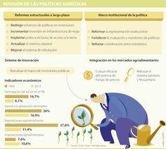 La Ocde pide al Gobierno Nacional priorizar los bienes públicos en el campo