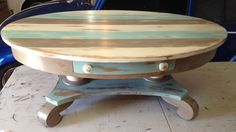 Coffee Table with drawer available at the Junk in the Trunk show September 2016 Booth #99
