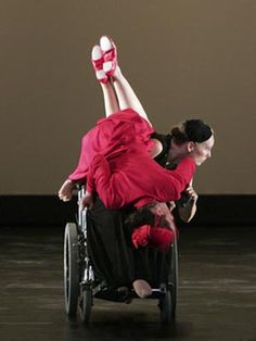Axis Dance Company includes dancers with disabilities