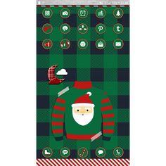 #myscreenoftheday #hootchristmas #golauncher #theme by iphantom #tistheseason #wall by @eviedoll…
