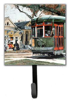 New Orleans Streetcar Wall Hook