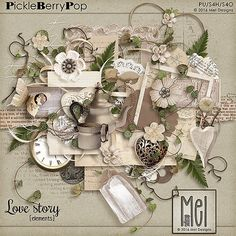 Love story - Elements By Mel Designs