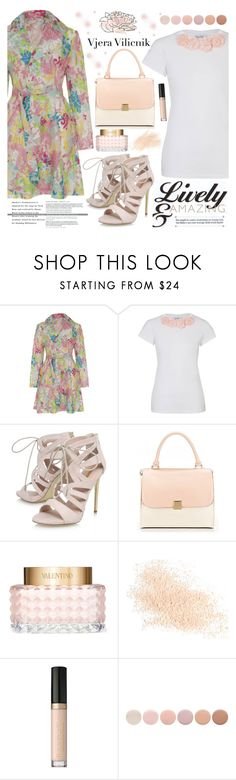 """Vjera Vilicnik 8"" by gaby-mil ❤ liked on Polyvore featuring Carvela, Valentino, Eve Lom, Too Faced Cosmetics, Deborah Lippmann, shirt, coat and vjeravilicnik"