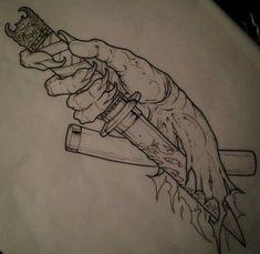 Asian Tattoos, Black Ink Tattoos, Body Art Tattoos, Hand Tattoos, Japanese Tattoo Designs, Japanese Tattoo Art, Tattoo Sketches, Tattoo Drawings, Tattoo Process