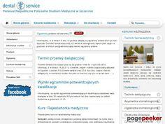 DENTAL SERVICE SP. Z O.O. SZCZECIN opiekun medyczny szczecin - Katalog Stron - Netbe http://www.netbe.pl/nauka,i,szkolnictwo/dental,service,sp,z,o,o,szczecin,opiekun,medyczny,szczecin,s,6623/ #szkolenia