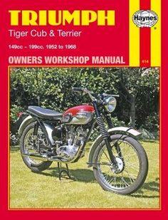 Haynes M414 Repair Manual for 1952-68 Triumph Tiger Cub and Terrier