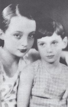 Marguerite Duras et le petit frère